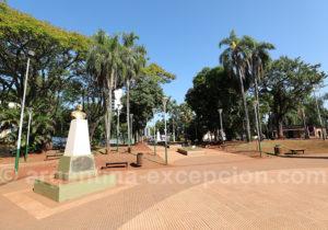 Statue du général Jose de San Martin, Puerto Iguazu