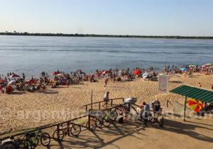 Plage Islas Malvinas, ville de Corrientes