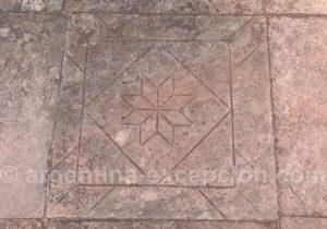 Gravure, site archéologique de San Ignacio Mini