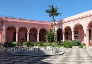 Patio du palais du Gouvernement de Corrientes