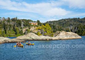 Kayak autour de l'île Victoria