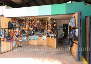 Boutiques d'artisanat site des Trois Frontières