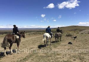 Excursion à cheval, estancia Santa Thelma