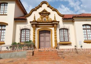 Entrée du musée des missions jésuites