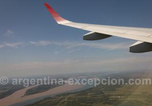 Survol du rio Paraná