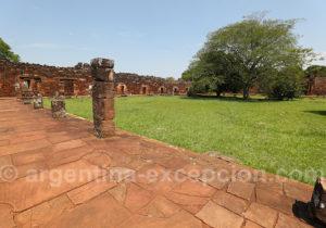 Visite du site archéologique de San Ignacio, Argentine