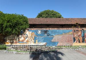 Fresque murale ville de Corrientes