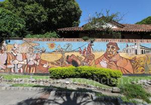 Fresque historique sur la ville de Corrientes
