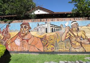 Paseo Peatonal y Mural de La Avenida Italia