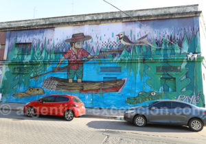 Art urbain, ville de Corriente