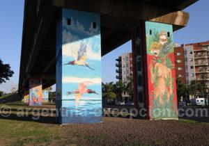 Street art, ville de Corrientes