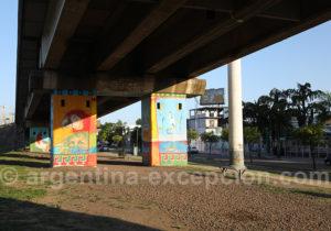 Les couleurs de la ville de Corrientes