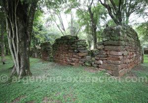 San Ignacio Mini après deux siècles d'abandon
