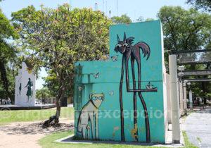 Street art, Resistencia Argentina