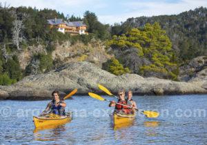 Kayak avec l'hôtel Isla Victoria