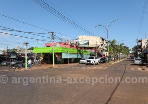 Centre ville de Puerto Iguazu