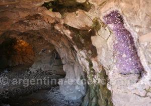 Intérieur de la mine de Wanda