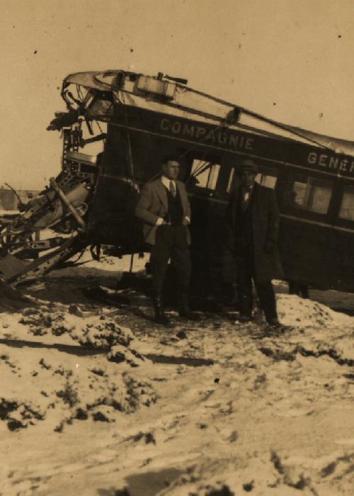 Accident de Prospero en Patagonie