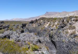 Canyon de lave Payunia