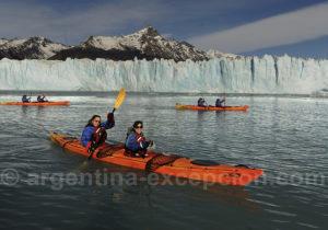 Excursion kayak glacier Perito Moreno