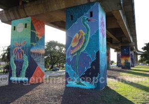Expression murale, ville de Corrientes