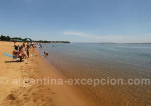 Détente à la plage, Paso de la Patria
