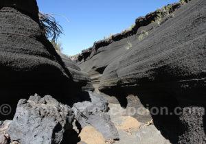 Lave pétrifiée volcan Malacara