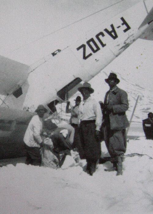 L Accident De Guillaumet Dans Les Andes Aeropostale En Argentine