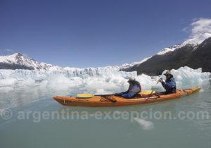 Expérience Kayak Perito Moreno