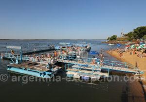 Piscine sur le río Paraná à Corrientes