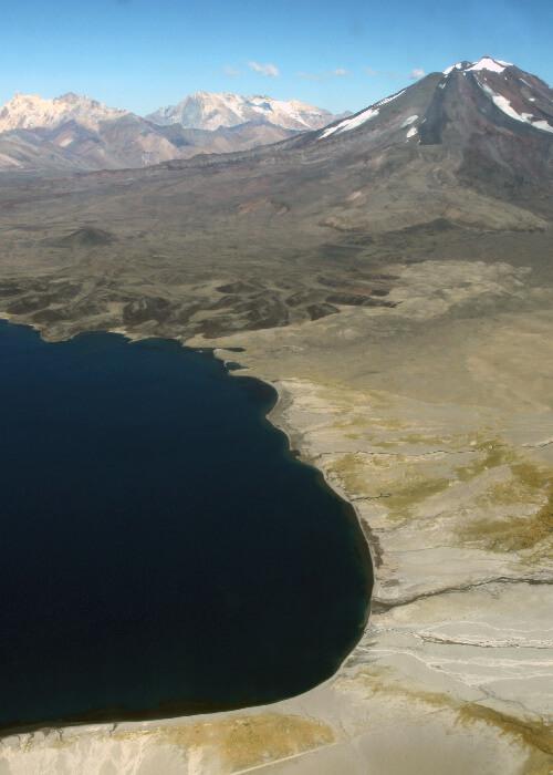 La réserve Laguna Diamante