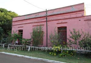 Architecture du village colonial de Corpus, Argentine