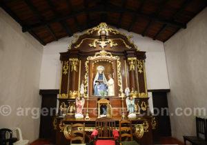 Retable de l'église de Santa Ana de los Guácaras