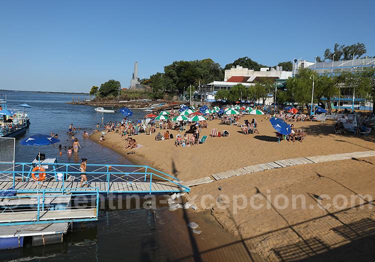Détente à Corrientes au bord du Paraná
