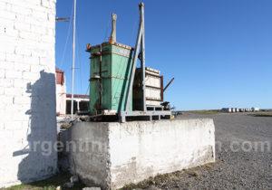 Bahia Bustamante outil de traitement des algues