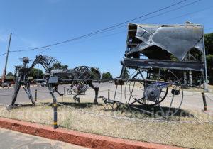 Entrée du village de San Cosme, province de Corrientes