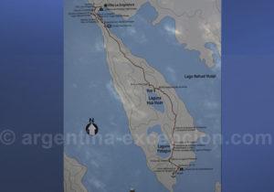 Plan du Parc Los Arrayanes