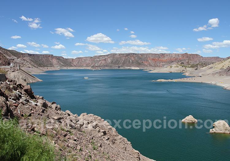 Barrage Valle Grande, cañon de Atuel San Rafael
