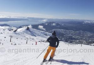 Ski à Cerro Catedral, Bariloche