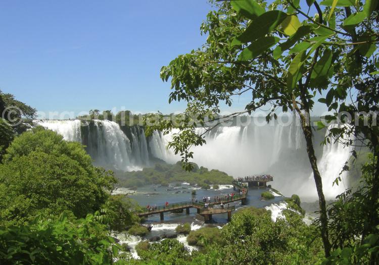 Chutes d'Iguazú coté Brésilien