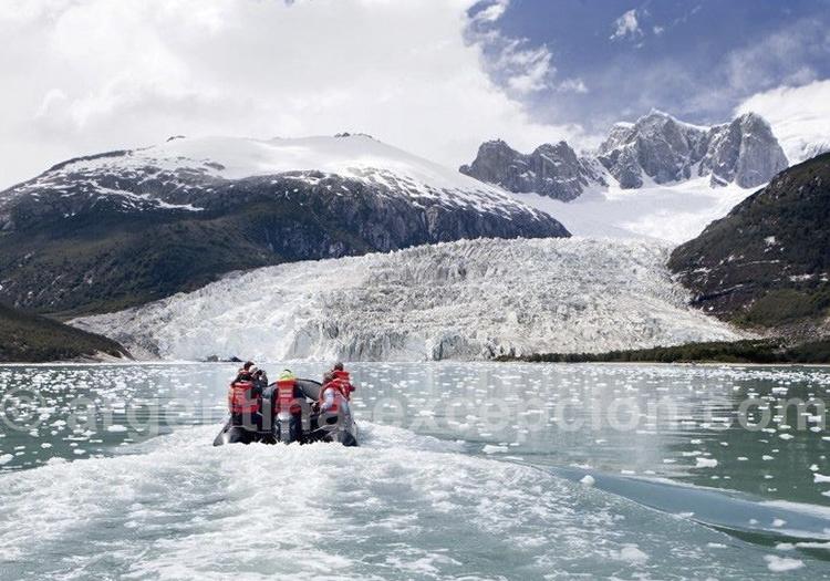 Croisière entre les glaciers de l'archipel de Patagonie