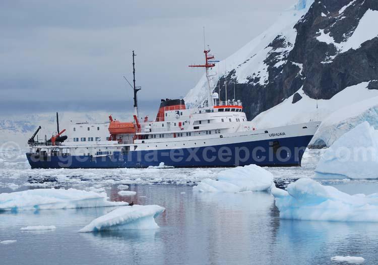 Le bateau MV Ushuaia