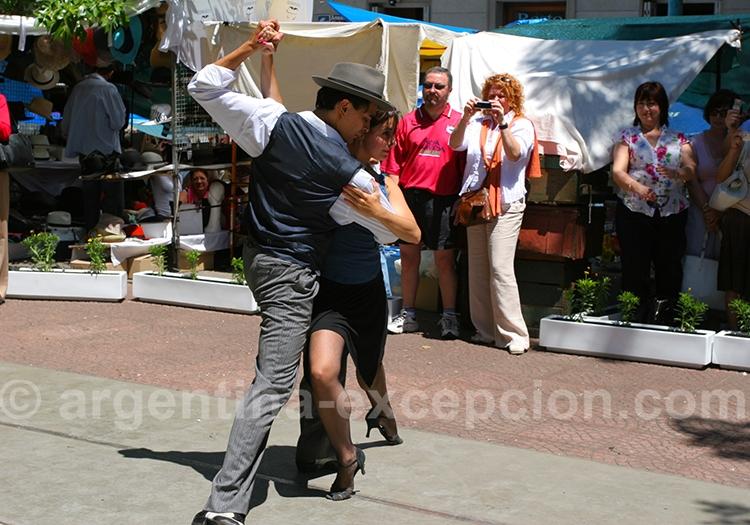 Danser le tango à San Telmo