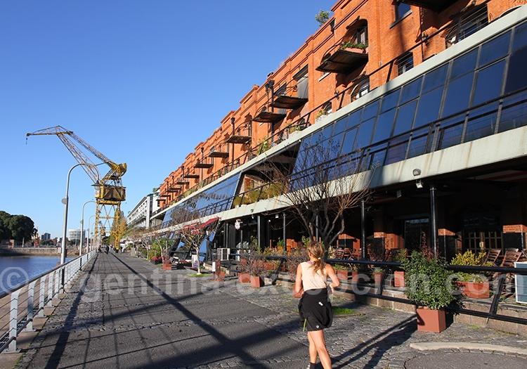 Déjeuner à Puerto Madero