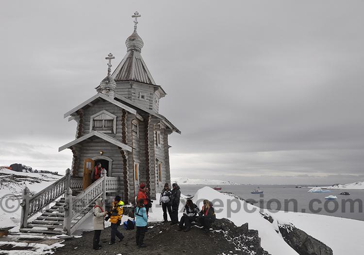 Eglise de la Trinité, ile du Roi Georges @ Nordbert Seevach