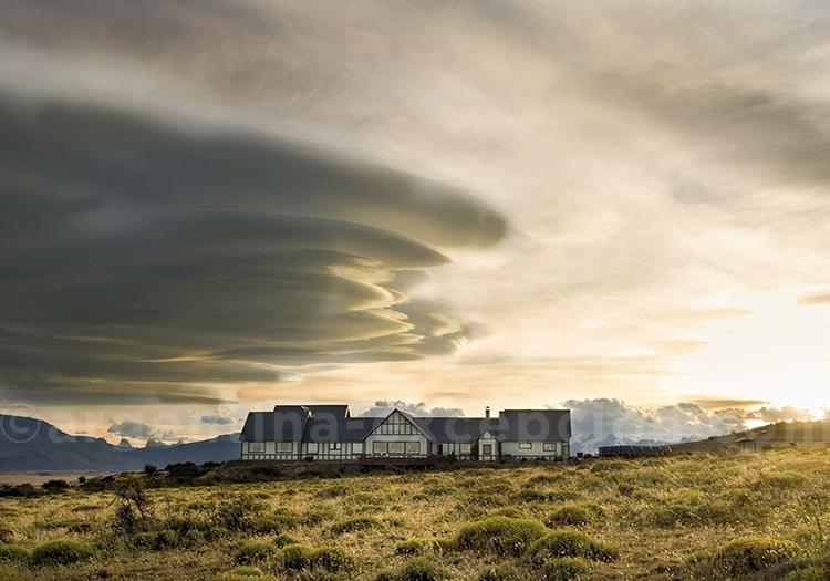 Eolo Lodge sous un ciel magnifique