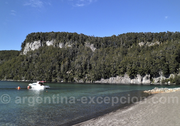Excursion nautique lac Nahuel Huapi