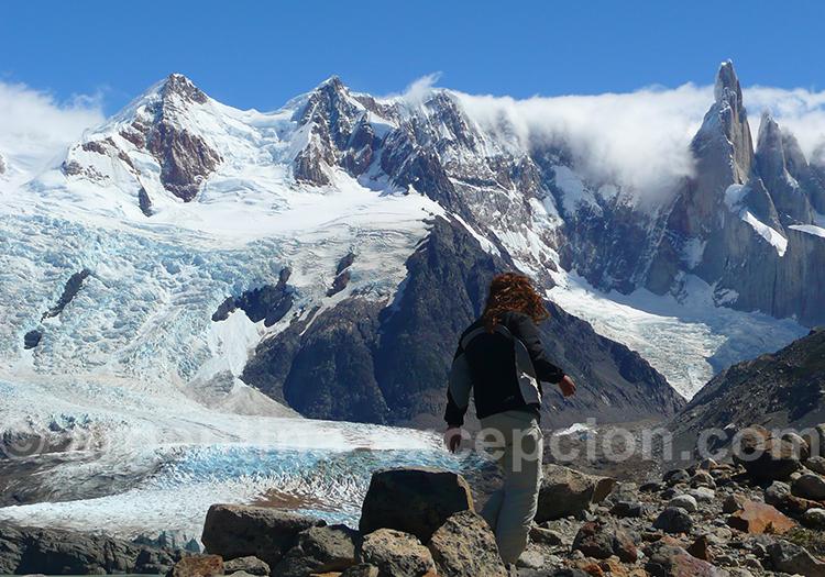 Glacier Torre et Cerro Torre depuis Maestri