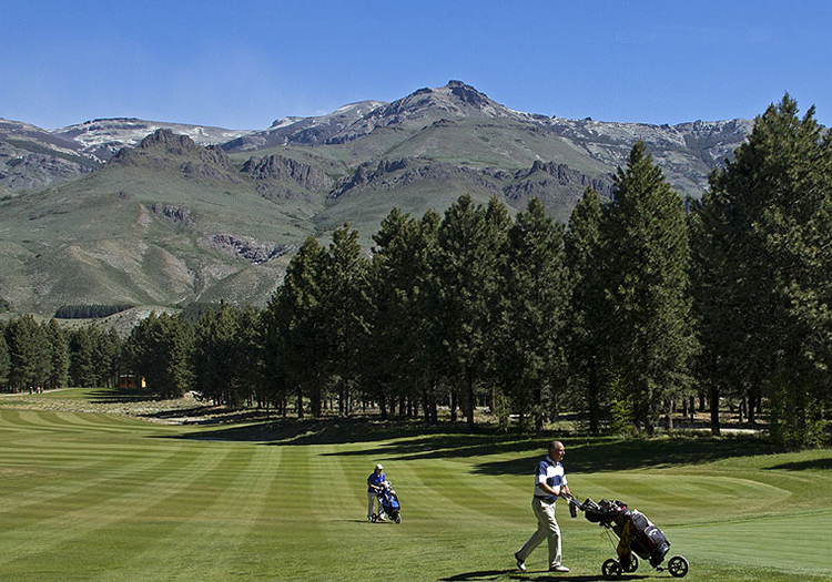 Golf en Patagonie
