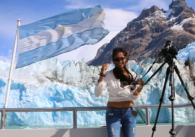 La puissance du vent de Patagonie